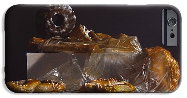 Donuts iPhone Cases - Pastry iPhone Case by Larry Preston