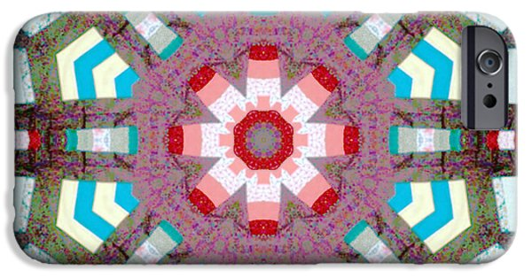 Block Quilts Tapestries - Textiles iPhone Cases - Patchwork Art iPhone Case by Barbara Griffin