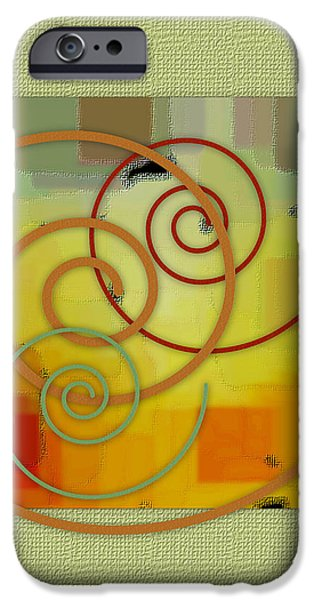 Patchwork I iPhone Case by Ben and Raisa Gertsberg