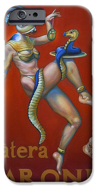Cobra iPhone Cases - Patera Baronis iPhone Case by Patrick Anthony Pierson