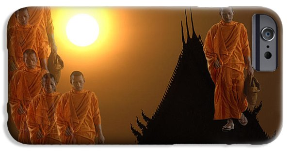 Canadian Photographer iPhone Cases - Path To Enlightenment iPhone Case by Bob Christopher
