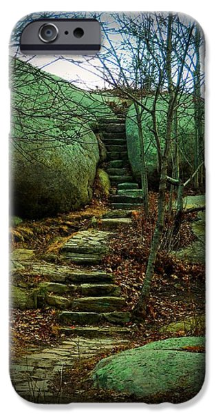 Path to Munchkinville iPhone Case by Marcia Lee Jones