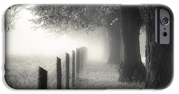 Autumn iPhone Cases - Pathway iPhone Case by Chris Fletcher