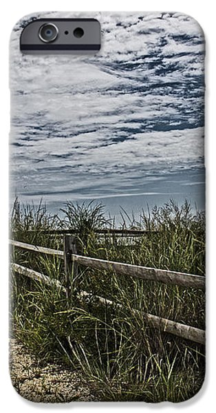 Pathway To The Sea iPhone Case by Tom Gari Gallery-Three-Photography