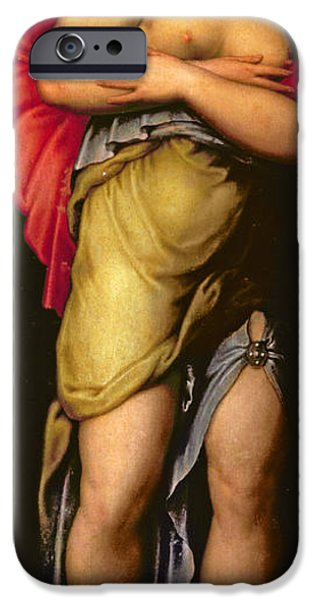 Renaissance iPhone Cases - Patience iPhone Case by Giorgio Vasari