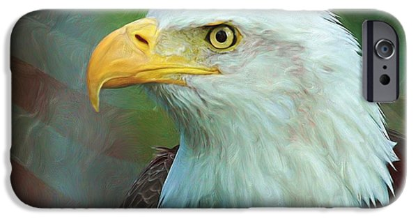Patriotism iPhone Cases - Patriot iPhone Case by Heidi Smith