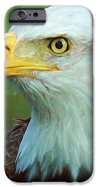 Patriot iPhone Case by Heidi Smith