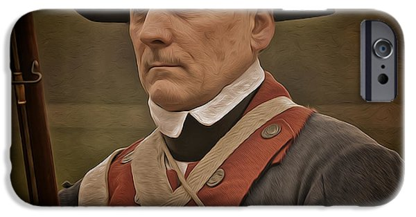 American Revolution Photographs iPhone Cases - Patriot iPhone Case by Mark Miller