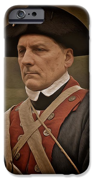 Patriot iPhone Case by Mark Miller
