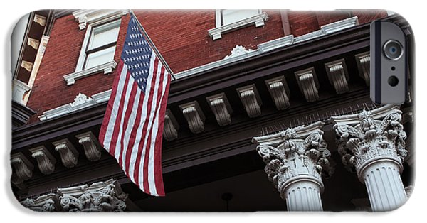 Chatham iPhone Cases - Patriotic Savannah iPhone Case by John Rizzuto