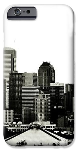 Patriotic Seattle iPhone Case by Benjamin Yeager