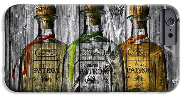 Old Barn iPhone Cases - Patron Barn Door iPhone Case by Dan Sproul