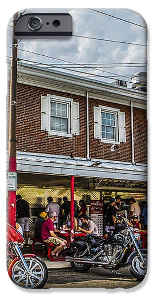 Pat's King of Steaks iPhone Case by Diane Diederich