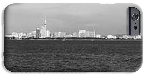 Ocean Panorama iPhone Cases - Pattaya Scenic iPhone Case by Atiketta Sangasaeng