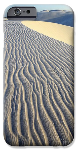 Sand Patterns iPhone Cases - Patterns In The Sand Brazil iPhone Case by Bob Christopher