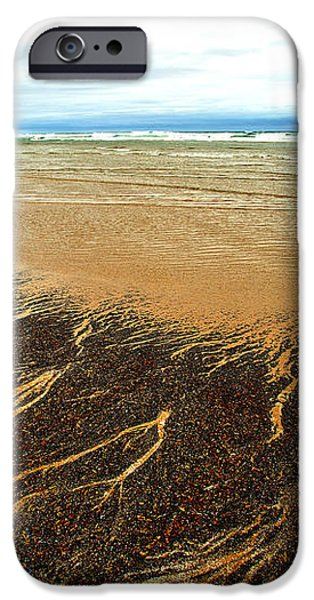 Patterns in the Tides iPhone Case by Artist and Photographer Laura Wrede