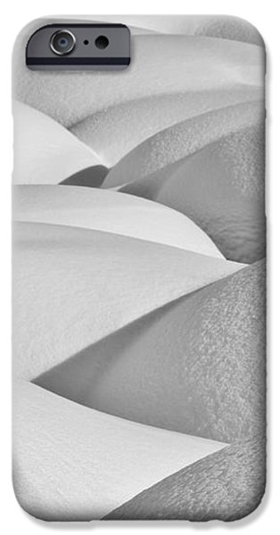 Patterns Of Shadow And Shape Created iPhone Case by Ray Bulson