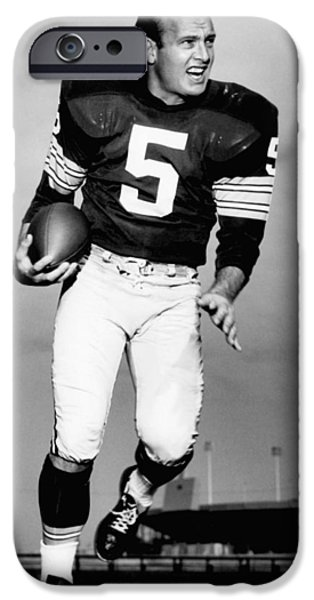 American League iPhone Cases - Paul Hornung Poster iPhone Case by Gianfranco Weiss
