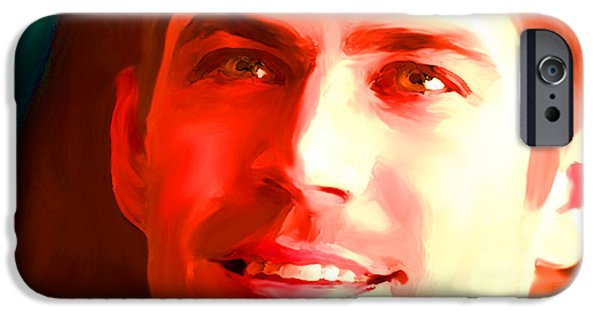 D.c. iPhone Cases - Paul Walker iPhone Case by Parvez Sayed