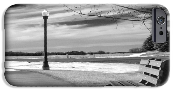 Winter Scene iPhone Cases - Pause iPhone Case by Don Spenner