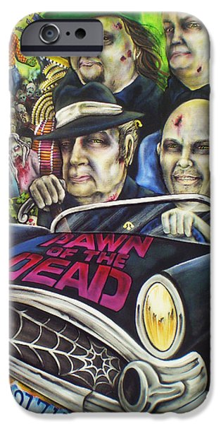 Dawn Of The Dead iPhone Cases - Pawn of the Dead iPhone Case by Mike Vanderhoof