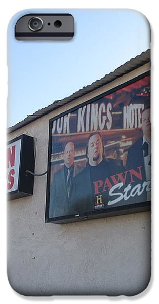 Pawn Stars iPhone Case by Kay Novy