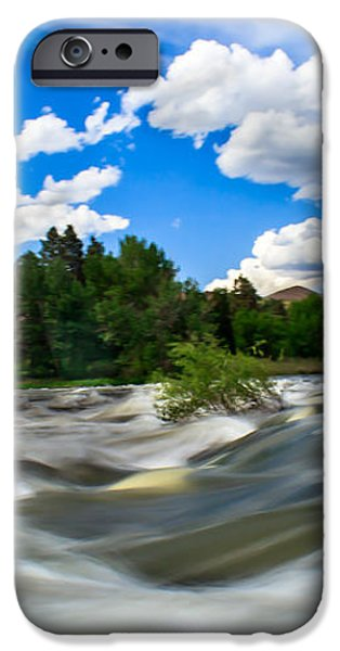 Payette River iPhone Case by Robert Bales