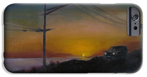 Pch iPhone Cases - PCH at Night iPhone Case by Lindsay Frost
