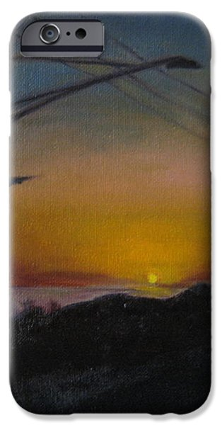 PCH at Night iPhone Case by Lindsay Frost
