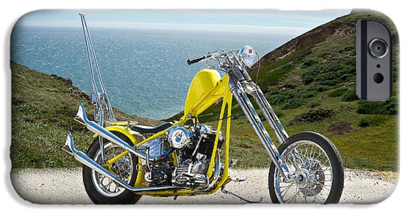 Pch iPhone Cases - PCH Chopper iPhone Case by Dave Koontz