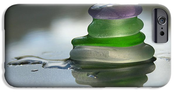 Nature Glass Art iPhone Cases - Peace iPhone Case by Barbara McMahon