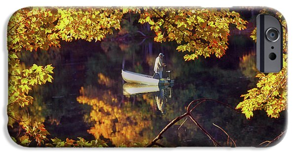New Hampshire Fall Scenes iPhone Cases - Peace iPhone Case by Joann Vitali