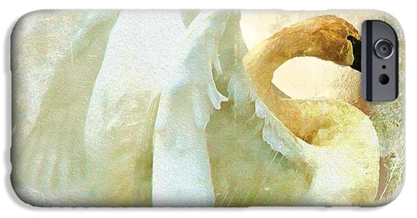 Christmas Greeting iPhone Cases - Peace iPhone Case by Kathy Bassett