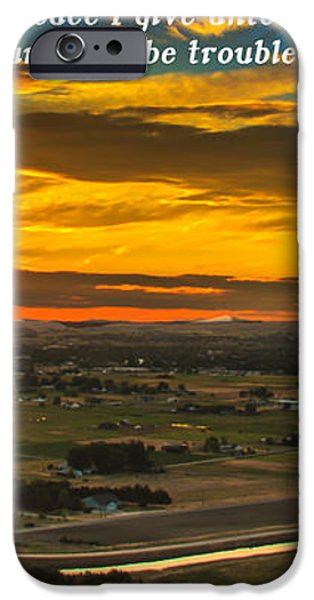 Peace iPhone Case by Robert Bales