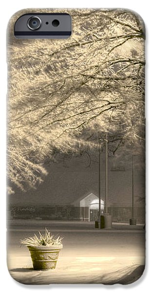 Peaceful Blizzard iPhone Case by JC Findley