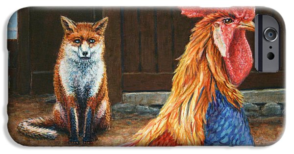 Farm iPhone Cases - Peaceful Coexistence iPhone Case by James W Johnson