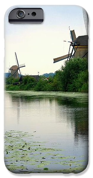 Peaceful Dutch Canal iPhone Case by Carol Groenen