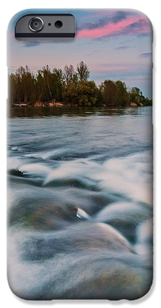 Peaceful evening iPhone Case by Davorin Mance