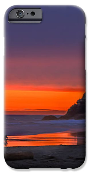 Peaceful Evening iPhone Case by Robert Bales