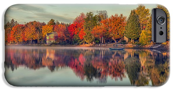Beauty Mark Photographs iPhone Cases - Peaceful Morning iPhone Case by Mark Papke