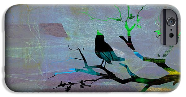 Bird iPhone Cases - Peaceful Thoughts iPhone Case by Marvin Blaine