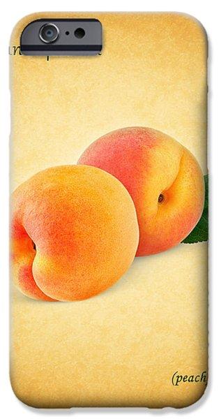 Sweet Corn iPhone Cases - Peach iPhone Case by Mark Rogan