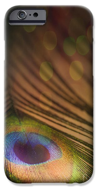 Vivid iPhone Cases - Peacock Party iPhone Case by Jan Bickerton