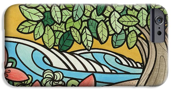 Recently Sold -  - Board iPhone Cases - Peak-A-Boo iPhone Case by Joe Vickers