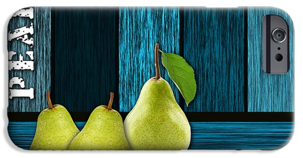 Pear iPhone Cases - Pear Farm iPhone Case by Marvin Blaine