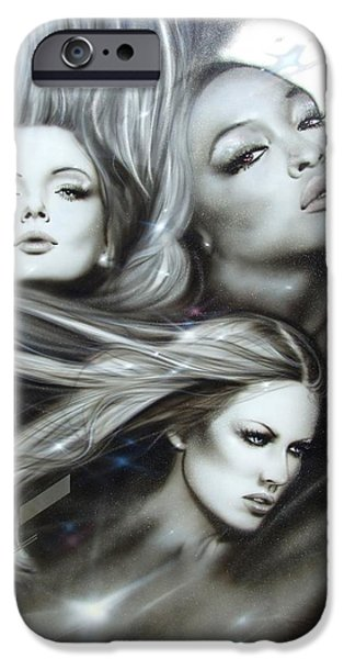 'Pearl Passions' iPhone Case by Christian Chapman Art