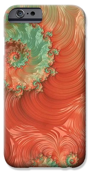 Abstract Digital iPhone Cases - Pearls of the Southwest iPhone Case by Susan Maxwell Schmidt