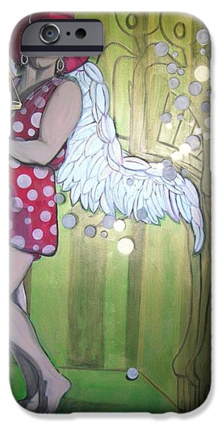 Best Sellers -  - Angels Smoking iPhone Cases - Pearly iPhone Case by Darlene Graeser