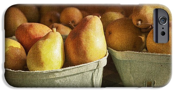 Farm Stand iPhone Cases - Pears iPhone Case by Caitlyn  Grasso