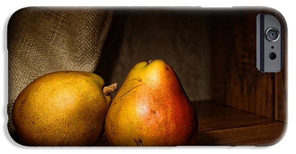 Pear iPhone Cases - Pears iPhone Case by Olivier Le Queinec